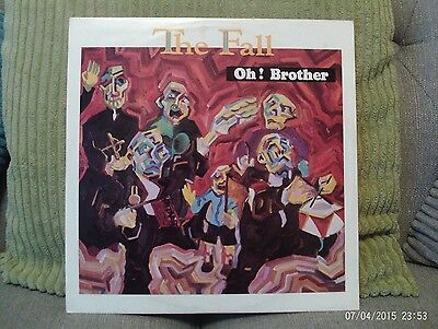 "The Fall - Oh Brother 12"" Vinyl Mark E Smith"
