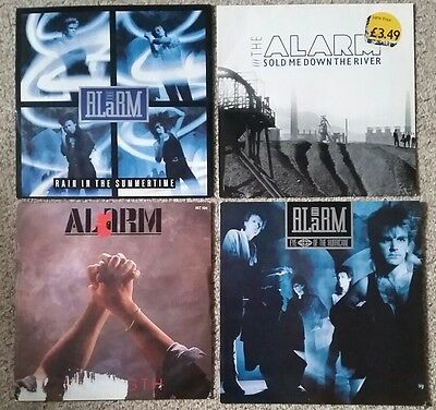 "The Alarm four 12"" vinyl albums. Mike Peters."