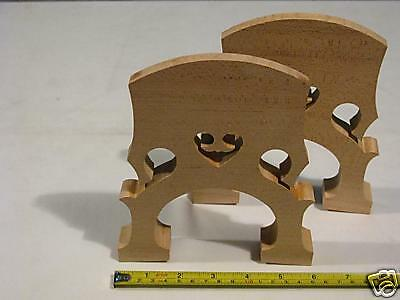 2pcs SONG Brand new Double bass bridges 1/4,aged Maple #6535