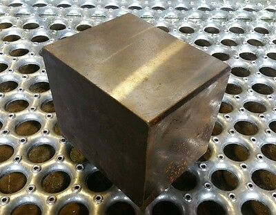 4140 Solid Heat Treated Block 38.5lbs for blacksmithing post anvil