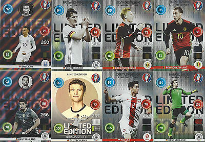 Limited Edition Panini Adrenalyn XL Trading Cards EURO 2016 choose aussuchen