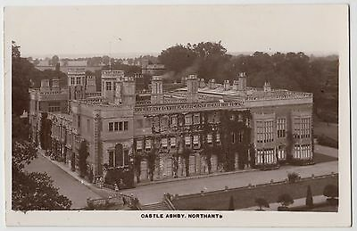 POSTCARD - Castle Ashby Northamptonshire, real photo