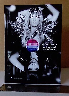 Britney Spears / Perfume / Glossy Slick / Counter Top Standee Promo #3