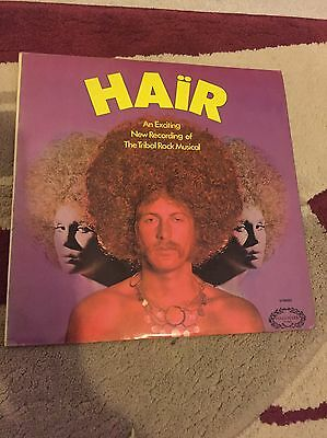 Hair - An Exciting New Recording Of The Tribal Rock Musical LP