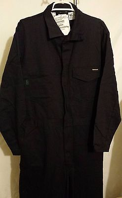 NWT Indura Flame Resistant Navy Blue Coveralls / Jumpsuit Size 46R (Large R)