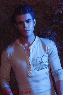 Paul Wesley The Vampire Diaries Signed Autograph Reprint #6