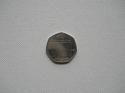 50p olympic offside explained coin 2011 circulated
