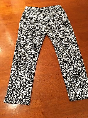 Floral Leggings Age 3-4