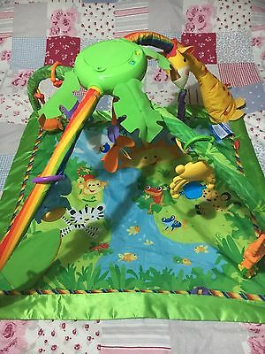 Fisher-Price Rainforest Gym Play Mat With Lights And Sounds