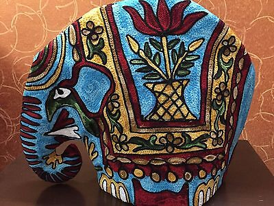 Elephant Quilted Tea Cozy/Embroidered French press cosy/Teapot/cafetière/coffee