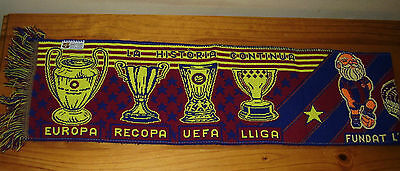 *rare* Official Barcelona *cup* Scarf