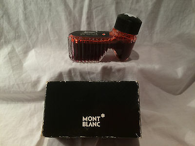 MONT BLANC BOOT INK WELL – Ruby Red 50ml