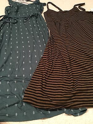 Lot of 2 NWT old navy maternity dresses (S)