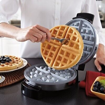 Waffle Belgian Maker Commercial Waring Baker Machine Iron Double Electric Oster