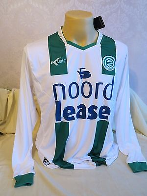 Fc Groningen Football Shirt Home 2009 2010 Long Sleeves Rare Holland Xl New