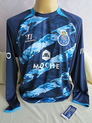 Fc Porto Football Shirt Away 2014 2015 Long Sleeves Xl New Rare