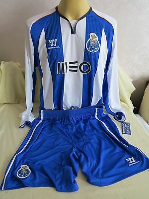 Fc Porto Football Shirt Short Home 2014 2015 Full Kits New Rare Xl Long Sleeves