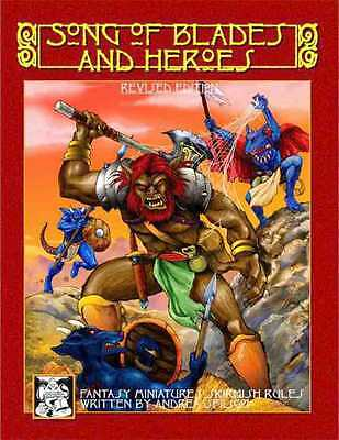Song of Blades and Heroes - Revised Edition Andrea Sfiligoi Broché - neuf