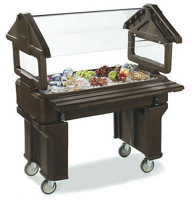 Carlisle 6605 4ft Portable Salad Food Bar