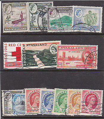 2 sets from Rhodesia ( lot 54 )