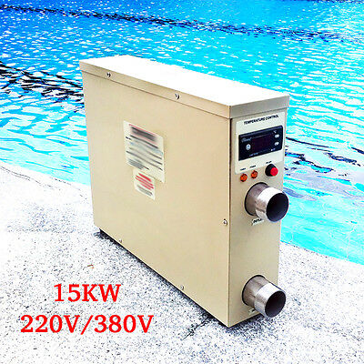 SP92 Swimming Pool Thermostat Equipment Buy 15KW 220V/380V Electric Water Heater