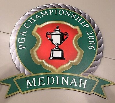 Original Course Entrance Sign From 2006 PGA Championship @ Medinah ~Members Only