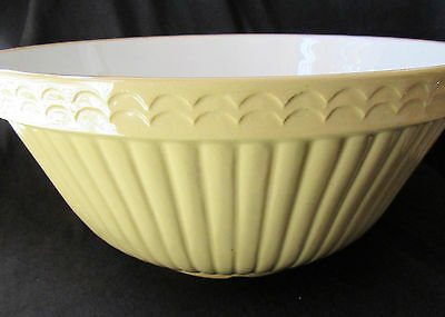 Vintage Bowl X3 Mason Cash & Co Made in England 9 Church Cresley Antique Set Of