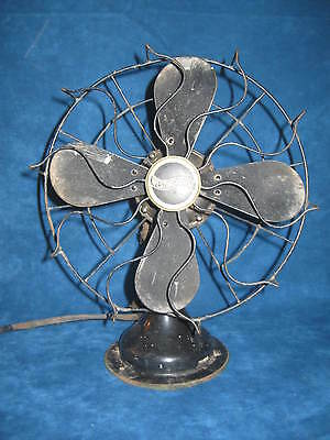 "Old WESTINGHOUSE 10"" Oscillating TABLE/ DESK FAN, Style 517723B"