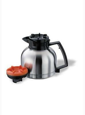 GMCW SS-1.9 LR Stainless Coffee Decanter Insulated with Black Lid