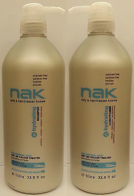 Nak Hydrating Shampoo 1 Litre And Conditioner 1 Litre