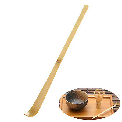 Natural Bamboo Scoop Spoon For Matcha Powder Japanese Tea Ceremony 17cm Spoon