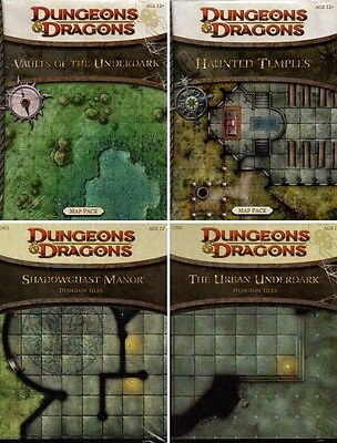 D&D-Vaults Underdark-Haunted Temples-Urban Underdark-Shadowghast Manor-Map-Tiles