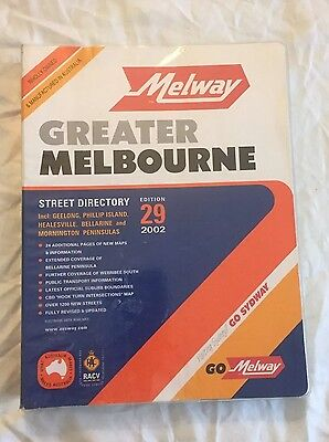 Melway 2002 Greater Melbourne Street Directory Edition 29