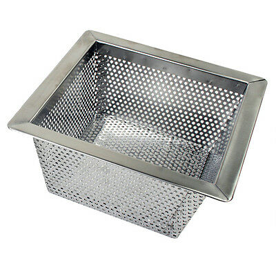 "Thunder Group Floor Drain Strainer 10"" X 10"" X 5"" - Slfds510"