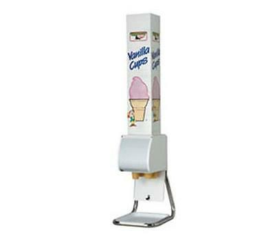 Dispense-Rite BCDS-BFL Ice Cream Cone Dispenser Stand w/ Removable Chrome Legs