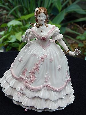 """Royal Worcester figurine """"The Masquerade Begins."""""""