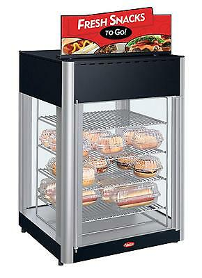 Hatco FDWD-2-120-QS 2 Door Revolving Display Pizza Cabinet 4-Tier Rack Impulse