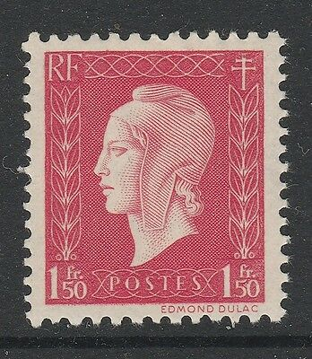 1944 FRANCE 1f.50 Red Marianne Stamp MNH