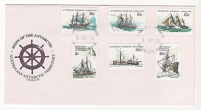 1981 AAT Australia SHIPS OF THE ANTARCTIC SERIES III FDC Cover 9/9/1981