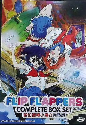 DVD Anime Flip Flappers Complete Box Set Vol. 1-13 End Eng Sub ALL Region