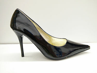 Women's Pointed 4 Inches Heel Shoes, Color Black,size 6.5, Carrie