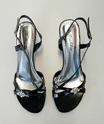 Women's Dress Shoes, 2 Inches Heels, Color Black, Size 6.5 Pipe16