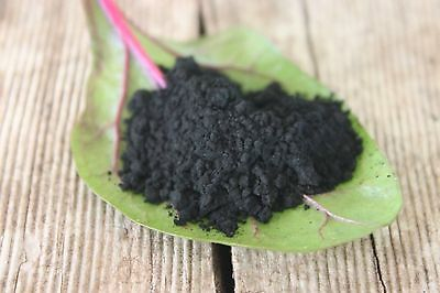 100% Activated Charcoal Powder Organic Whitening Coconut Detox Ultra Fine 30g :)