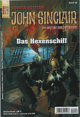 JOHN SINCLAIR SONDEREDITION Nr. 42 - Das Hexenschiff - Jason Dark
