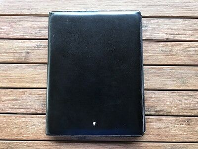 Montblanc Meisterstuck Large Leather Note Pad & A4 Portfolio - genuine/authentic