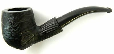 Unique Black Rose Wood Briar Tobacco Smoking Pipe by Rohan Pipes LZ-8