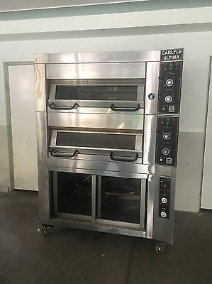 Used Carlyle Ultima 2 Deck Oven And Prover