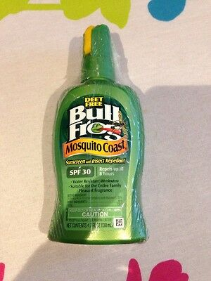 Bullfrog Mosquito Coast SPF 30 - Sunblock With Insect Repellent, Deet Free