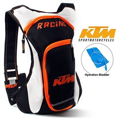 2L KTM Hydration Water Bag Pack Backpack Rucksack Hiking Cycling Camping Bladder