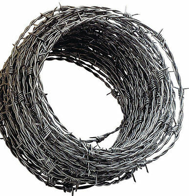 Garden Barbed Wire 25m x 1.7mm in Plastic Tub